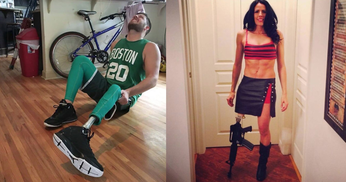 51 Times People Used Their Disabilities To Make All Other Halloween Costumes Invalid