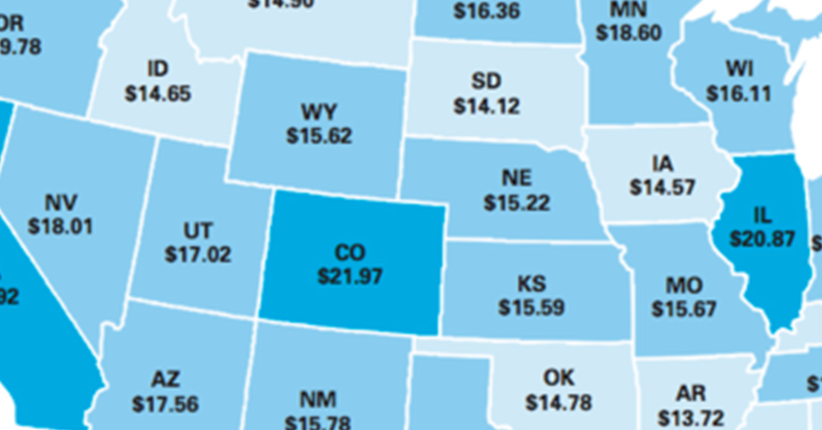 The Hourly Wage You Need To Afford Rent In Every U.S. State