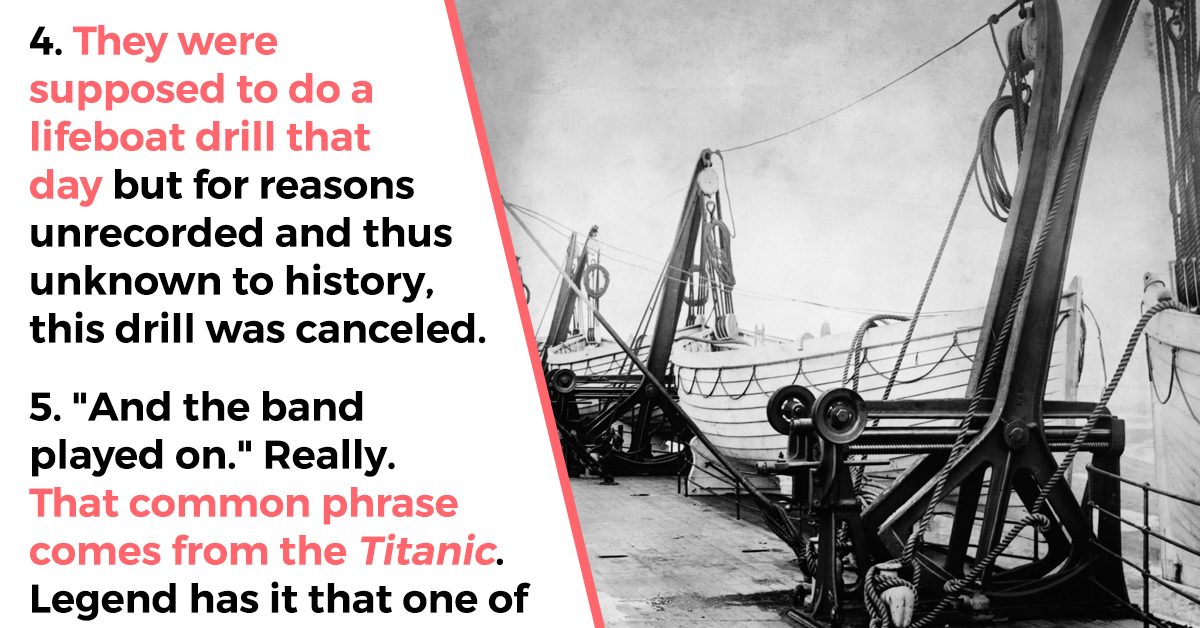 9 Incredibly Spooky Facts About The Titanic (The Ship, Not The Movie)