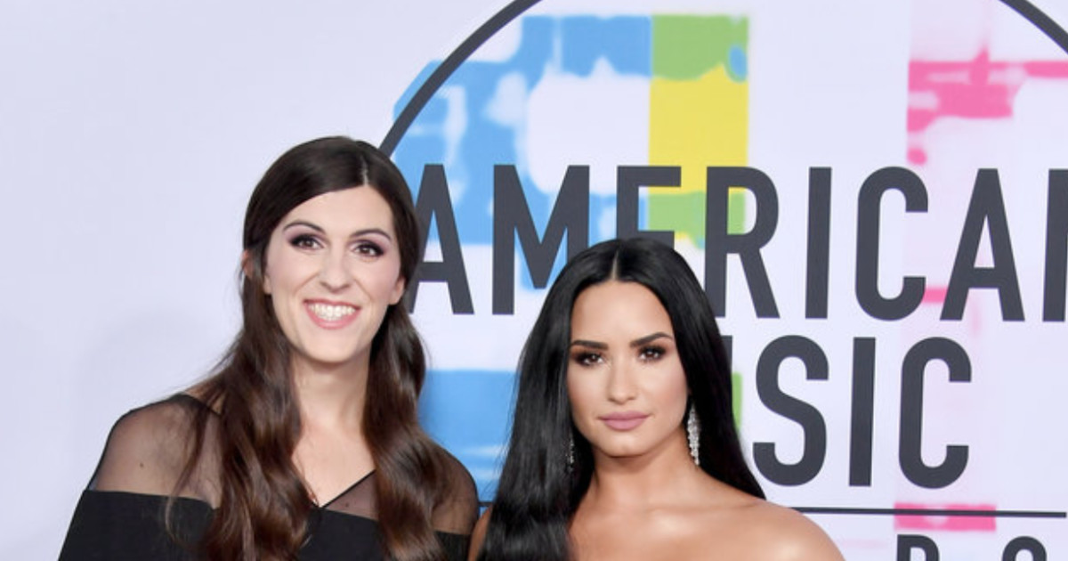 Transgender Lawmaker Danica Roem Stuns On The AMA Red Carpet With Demi Lovato