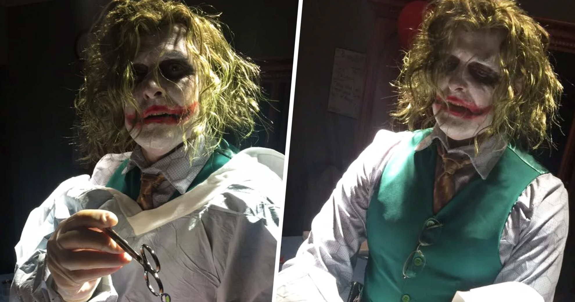 This Doctor Dressed As The Joker To Deliver A Halloween Baby
