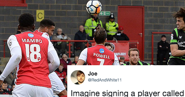 Soccer Player's Shirt Number Draws Confusion On Twitter—And For Good Reason