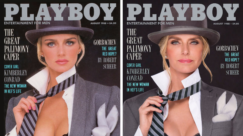 7 Playboy Playmates Recreate Their Own Covers Decades Later