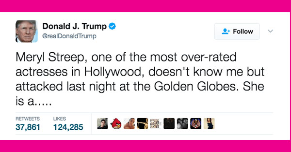 33 Times Donald Trump Made Twitter The Worst Place On Earth In 2017