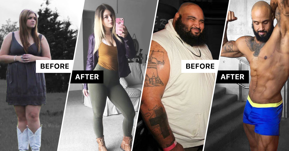 30+ Incredible Before & After Pictures Weight Loss Pictures That Don't Even Look Like the Same Person