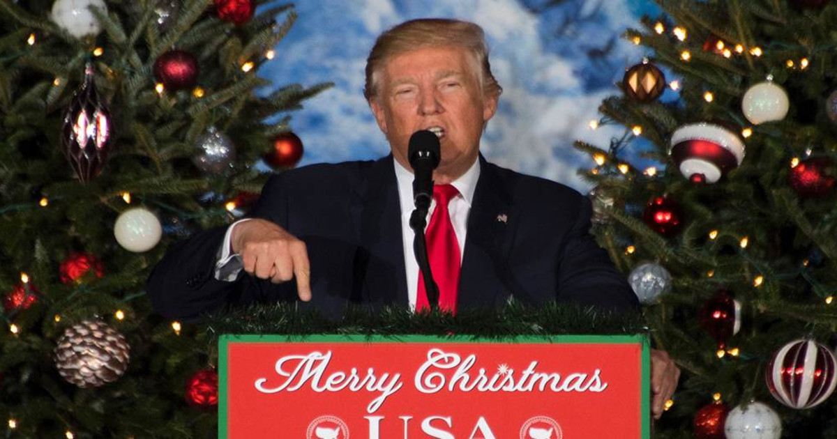 ridiculous tv commercial thanks president trump for ending the war on christmas - The War On Christmas