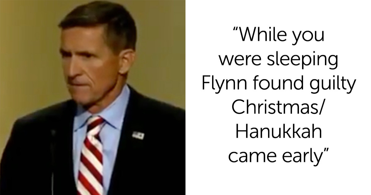 Michael Flynn Created The 'Lock Her Up' Chant–And Now The Irony Is Extremely Rewarding