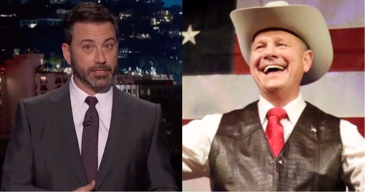 Roy Moore Picked A Twitter Fight With Jimmy Kimmel And We're Here For It