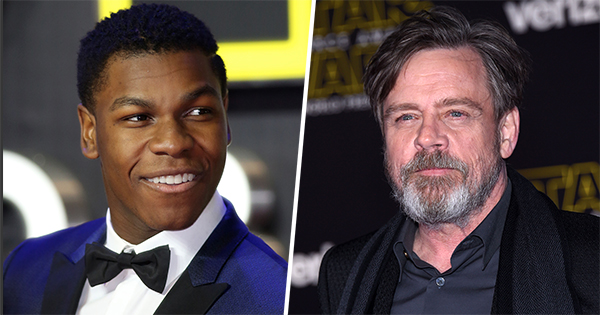 Mark Hamill And John Boyega Can't Help Trolling Eager 'Star Wars' Fans On Twitter