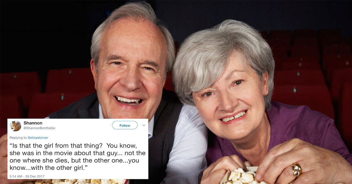 Woman Tweets About The Horror Of Watching Movies With Her Parents, And Everyone Agrees