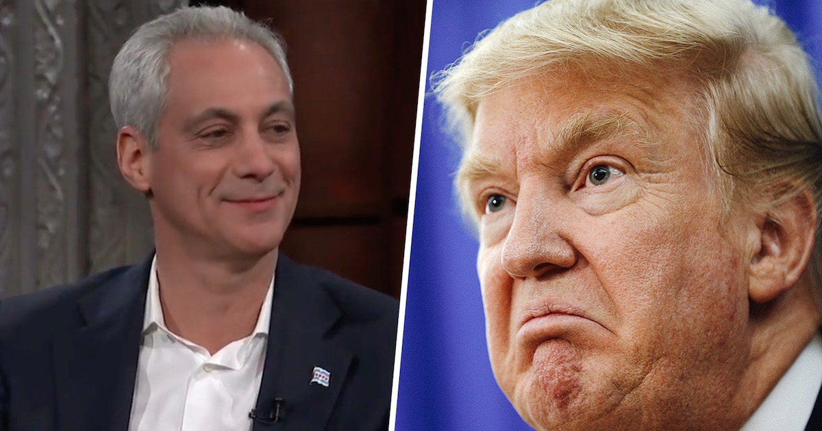 The Mayor Of Chicago Just Slammed President Trump By Announcing Their New 'Motto'