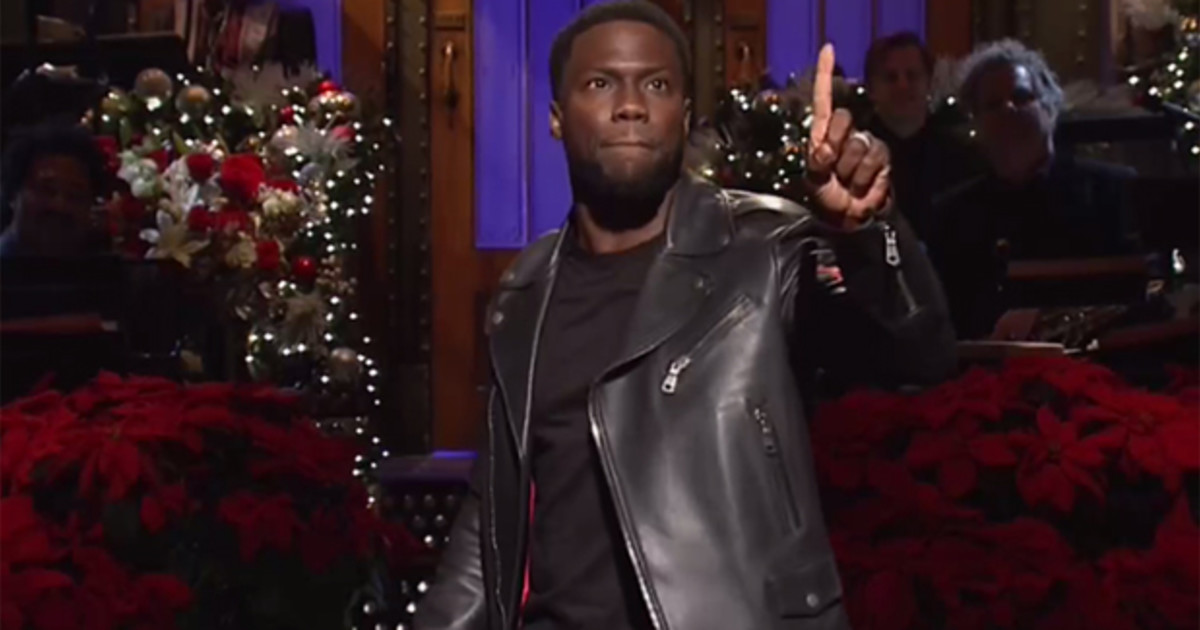 Kevin Hart's SNL Monologue About Parenting Didn't Go Over Too Well On Social Media