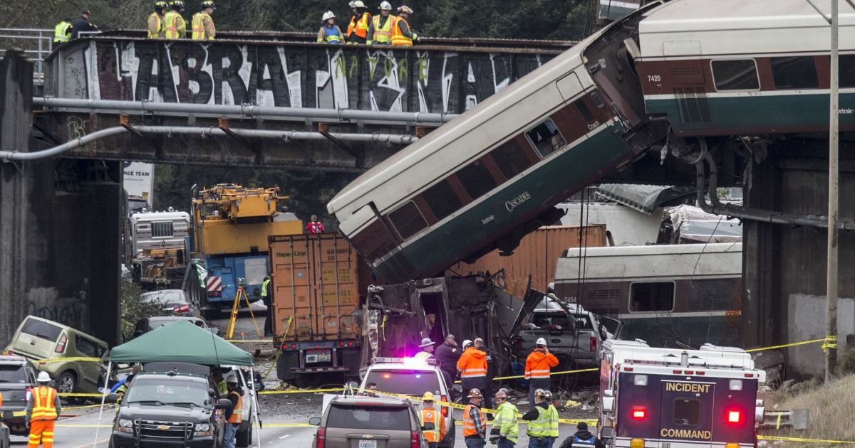 Conspiracy Theorists Have Ideas About Tragic Speed Train Accident—And They Need To Stop
