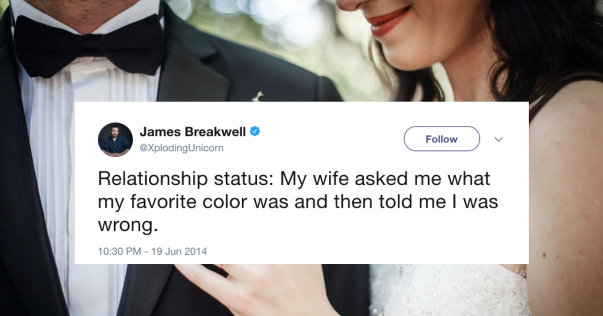 24 Funny Tweets From Husbands Who Just Totally Get Marriage