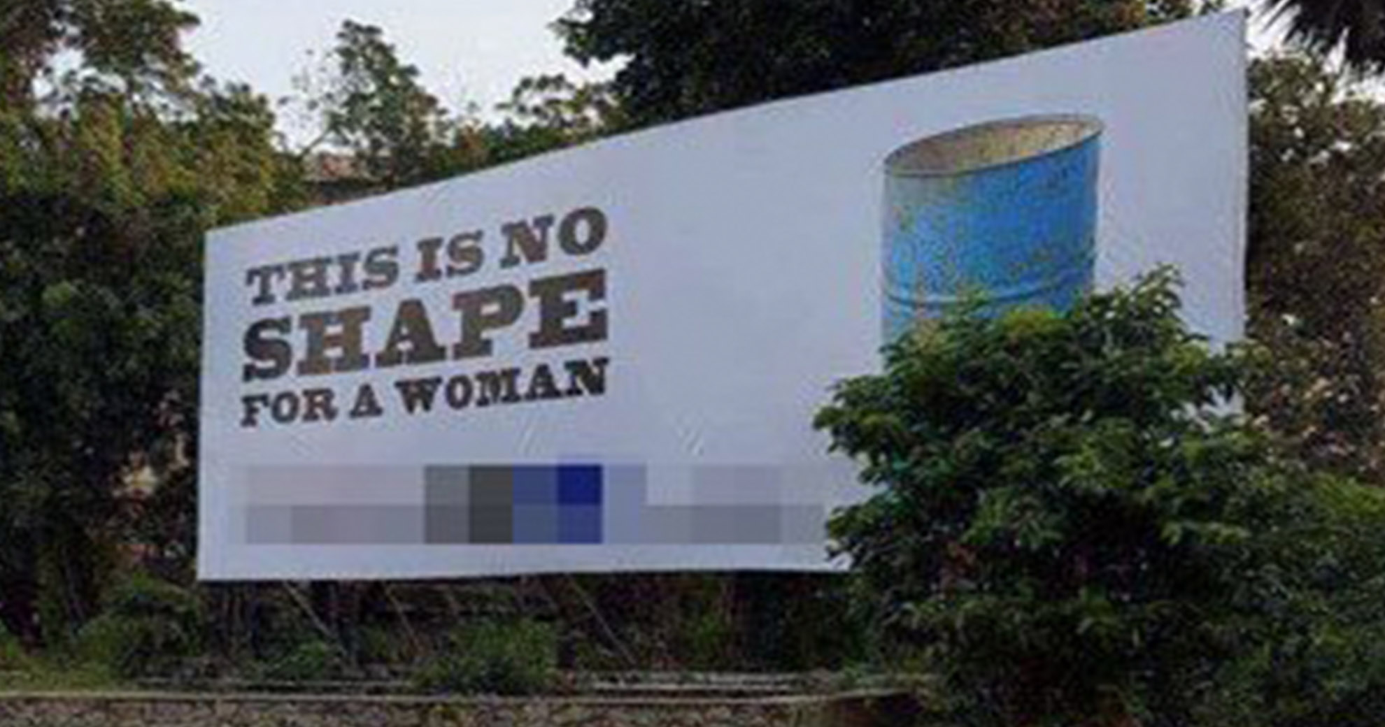 Gym Puts Up Offensive, 'Body-Shaming' Billboard—So Women Took Matters Into Their Own Hands