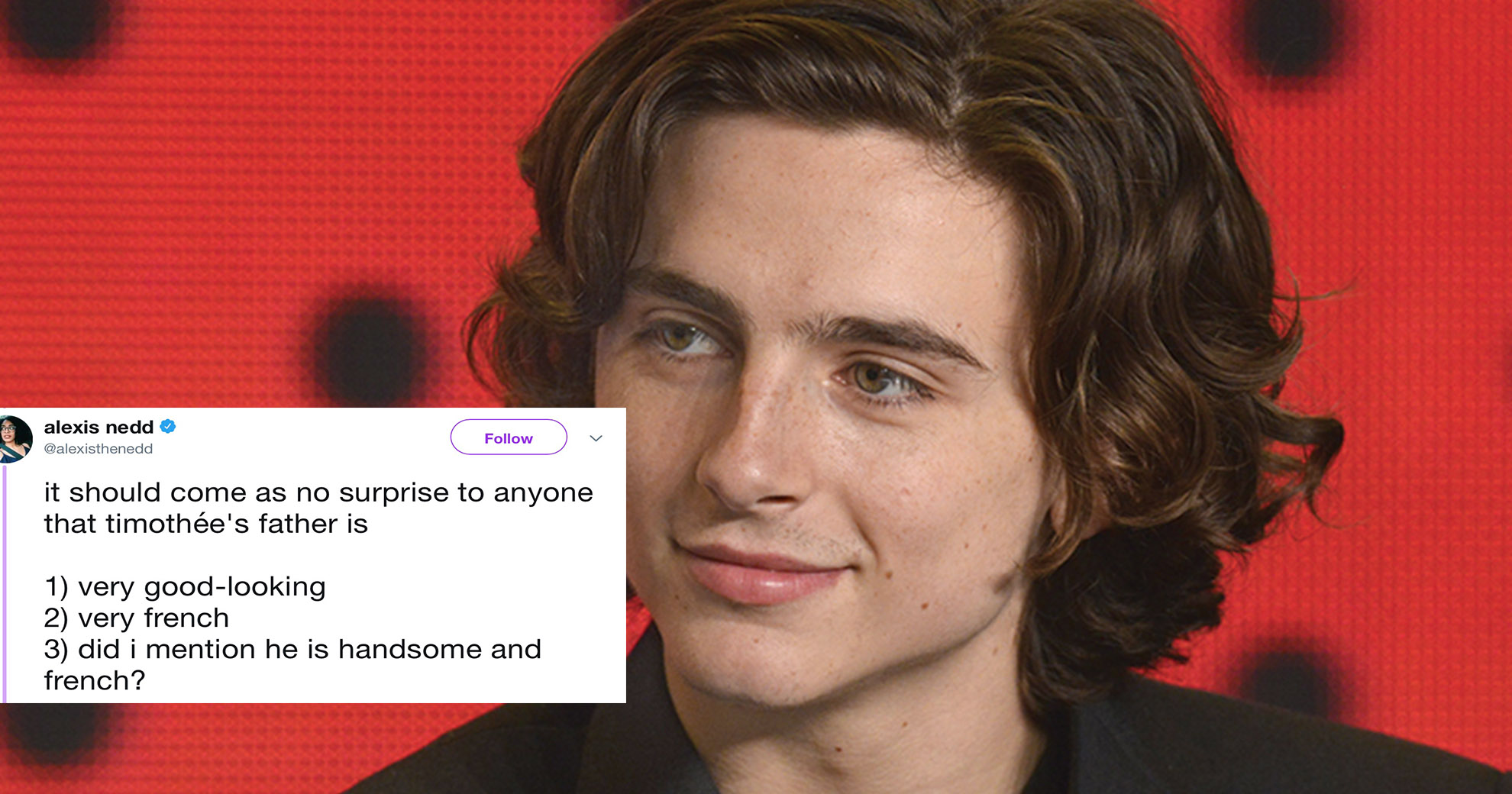 Woman Admits Awkward Encounter With Timothee Chalamet's Dad In Twitter Rant