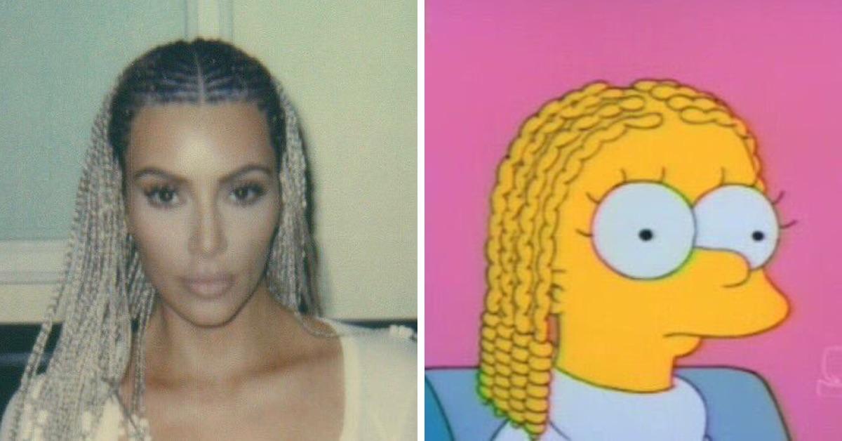 Kim Kardashian Got Cornrows And Twitter Is Having A Damn Field Day