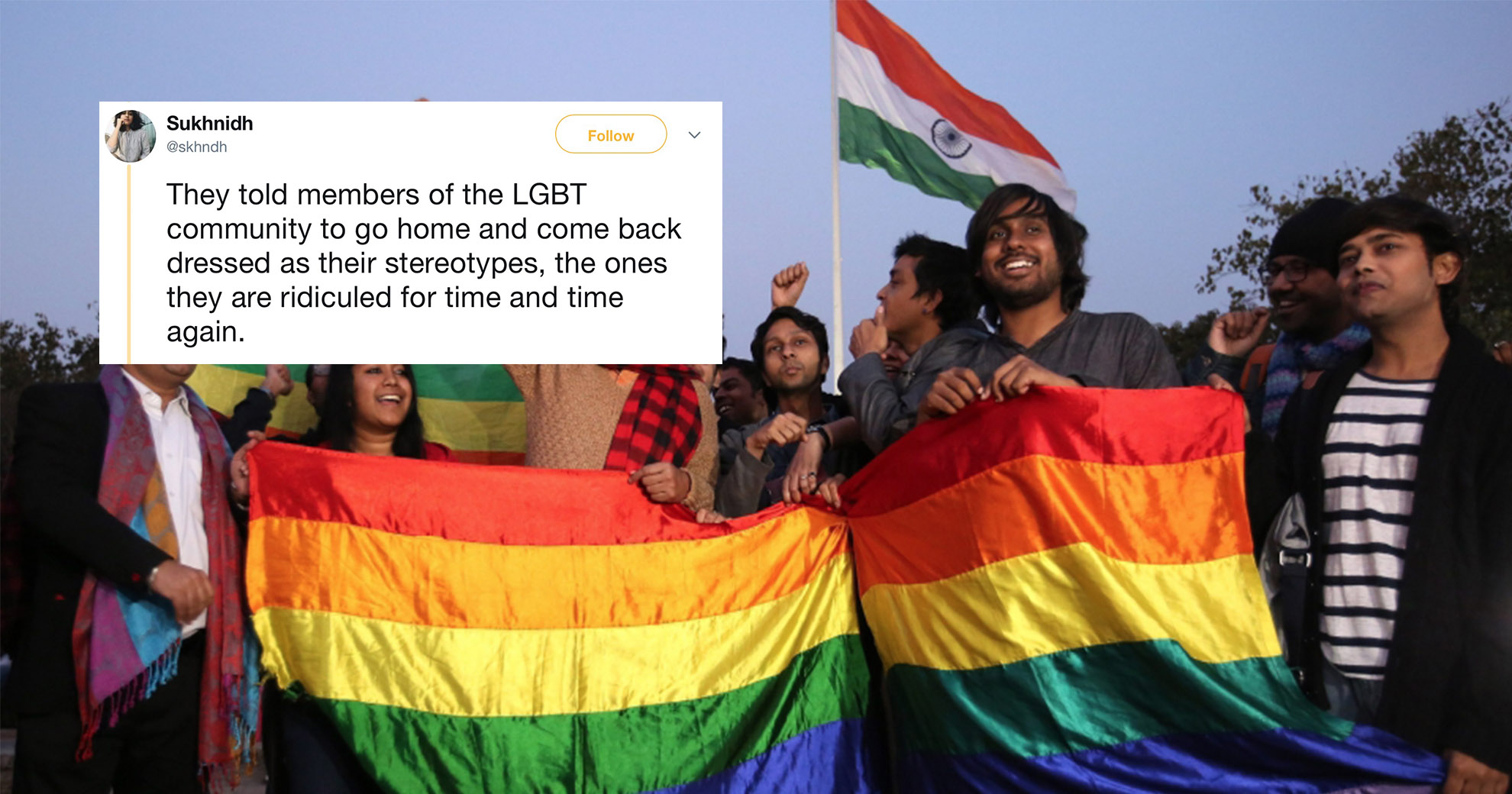 Newspaper Tells LGBTQ Interviewees That They Don't Look Gay Enough—And People Are Pissed