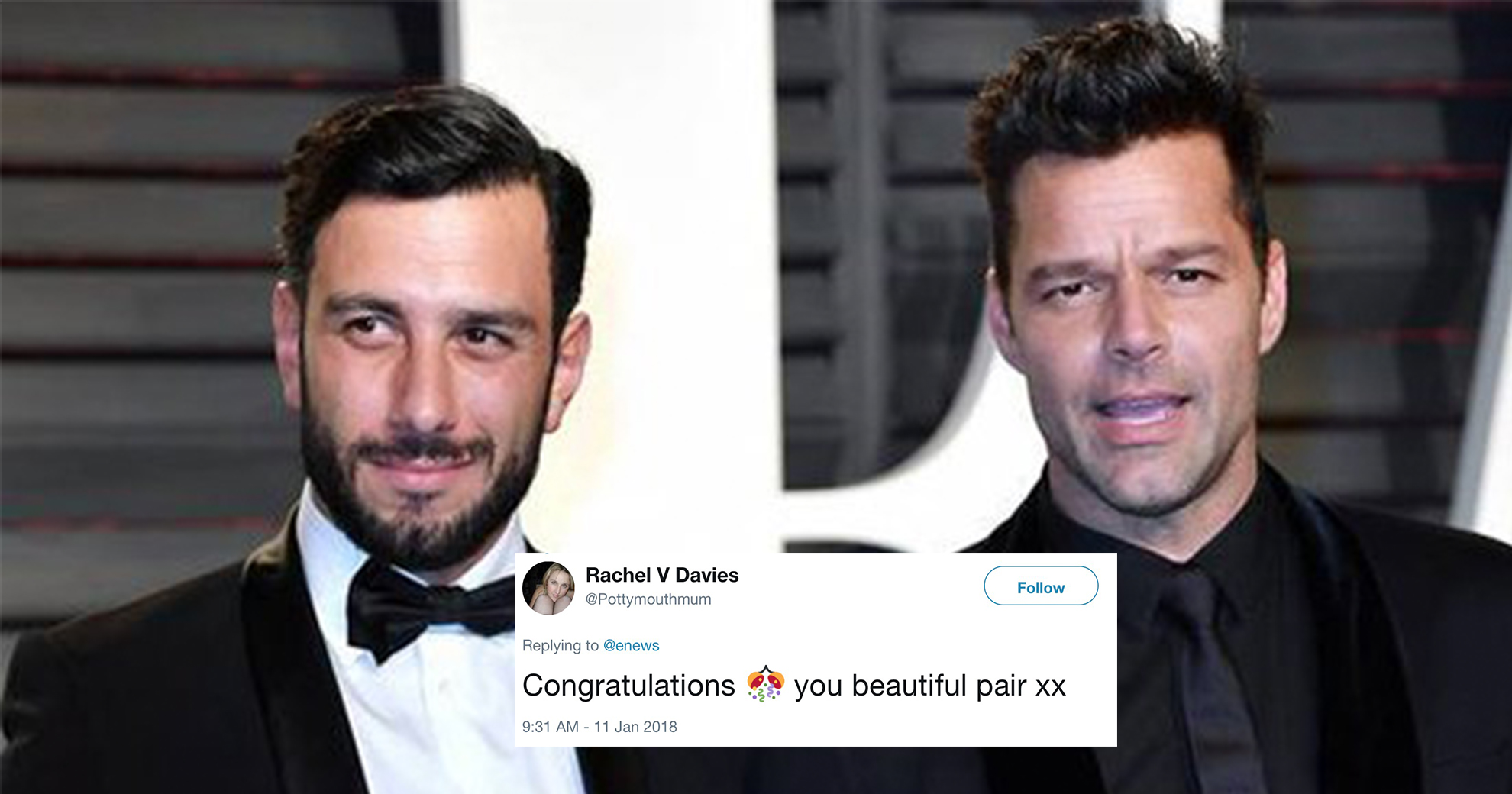 Ricky Martin Reveals He Got Secretly Married—And We Couldn't Be Happier For Him