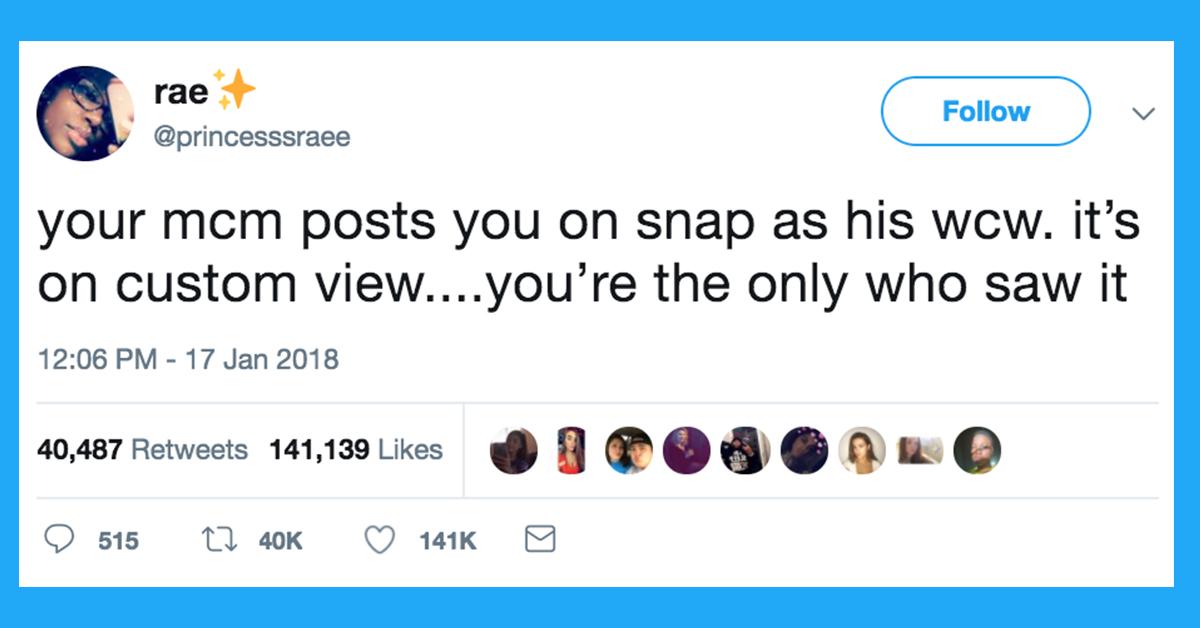 39 Tweets That Prove Your #MCM Ain't Sh*t