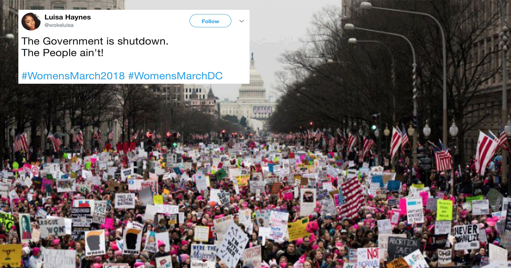 Revolutionary And Uplifiting Images Of Women's Marches Emerge Online