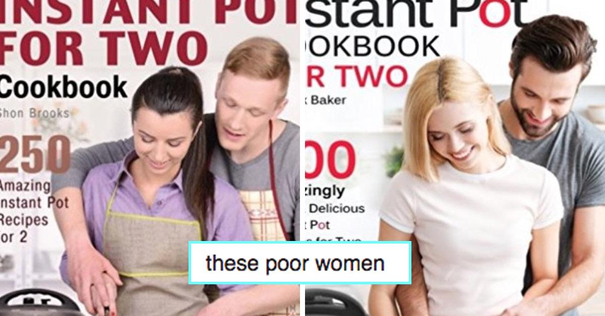This Sexist, Mansplaining Cookbook Trope Has Twitter Baffled