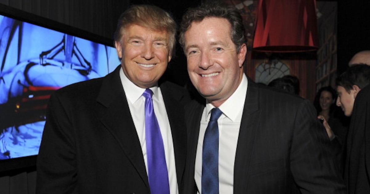 Piers Morgan Is Peeved About This Obscene Cartoon Of Him And Trump, Twitter Is Delighted