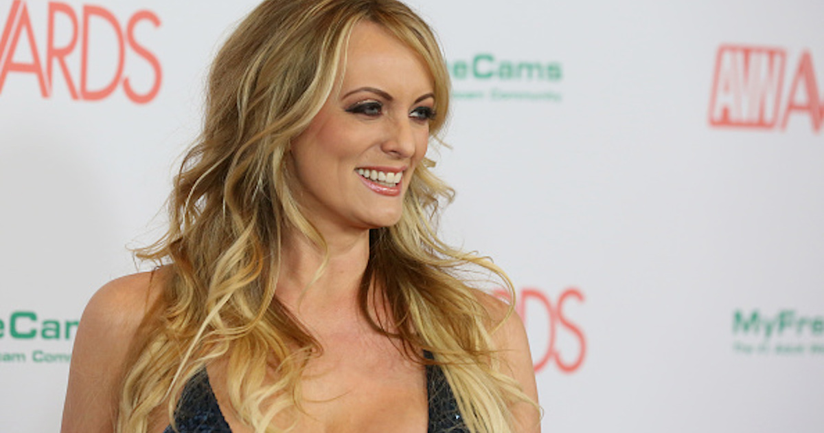 Stormy Daniels Says She Kept The Dress From Her Trump Affair, And Will Have It Tested For DNA