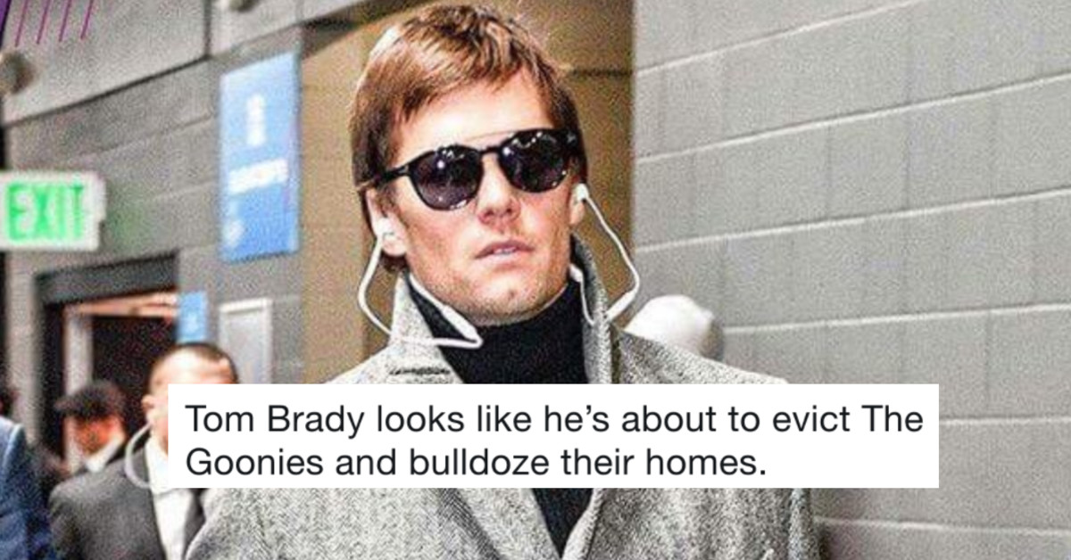 15 Of The Funniest Reactions To Tom Brady's Hideous Super Bowl Coat