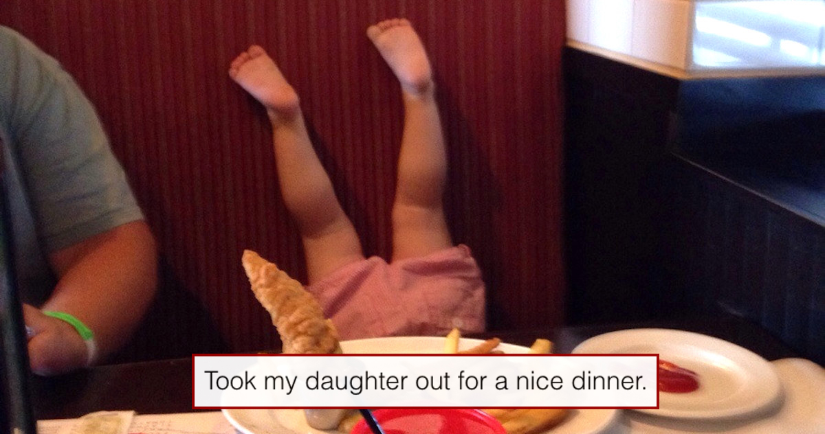 40 Kids You're Only Allowed To Laugh At If You Disappoint Your Parents On The Regs