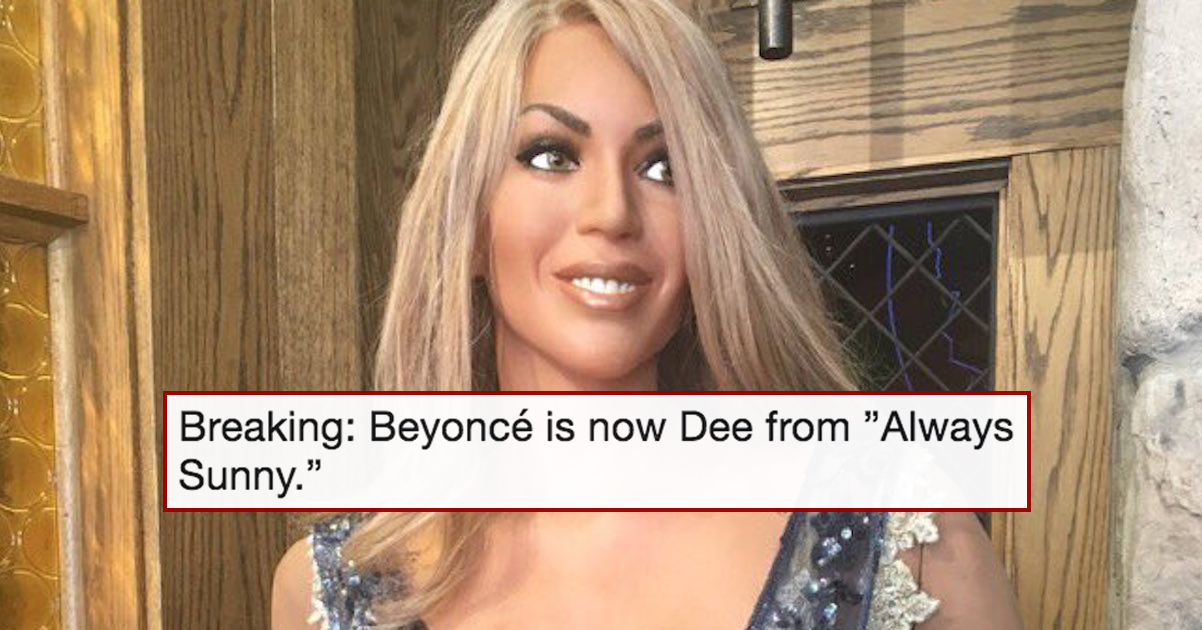If This Wax Statue Is Supposed To Resemble Beyoncé Knowles, Then I'm Calling The Cops