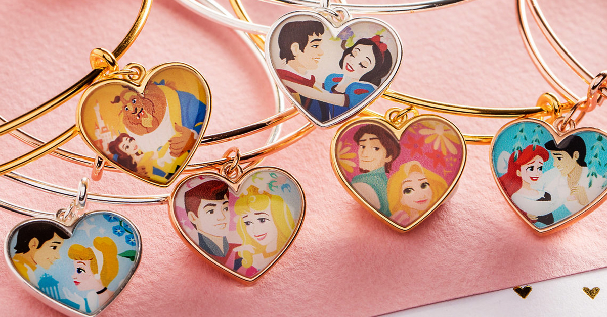 Alex And Ani Dropped These Magical Disney Bracelets Just In Time For Valentine's Day