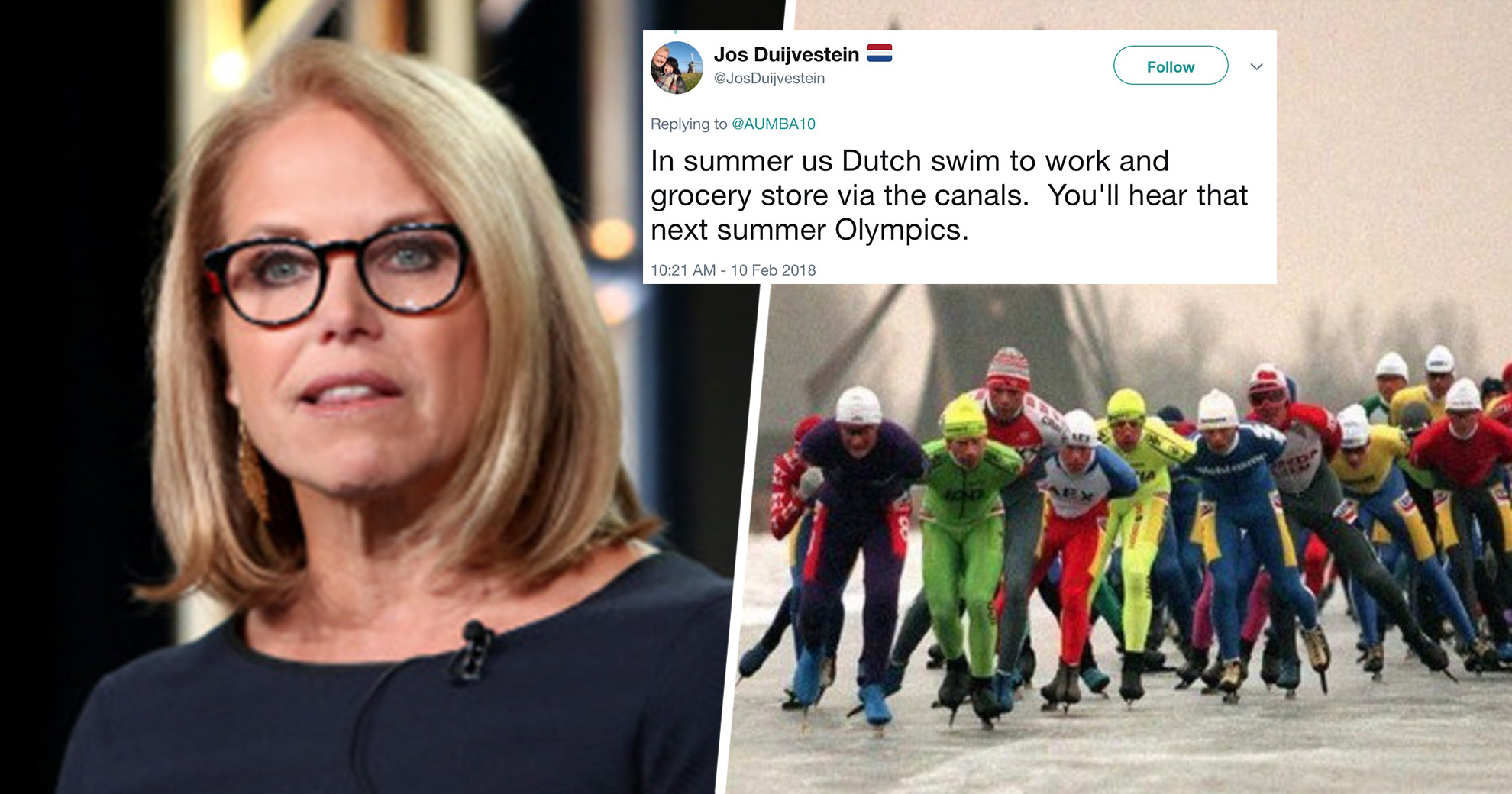 Katie Couric Gets Roasted On Twitter After Her Puzzling Comments About The Dutch