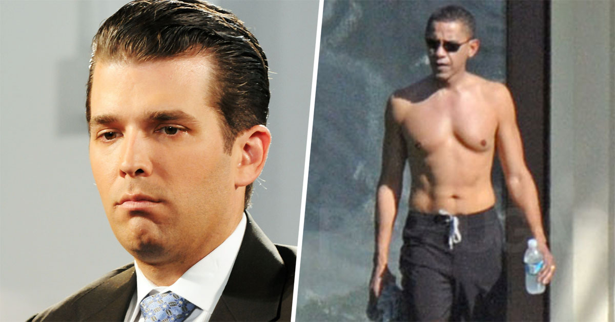 """Donald Trump Jr. Just Called Obama Unhealthy Because He's A """"Skinny Guy With No Muscle Mass"""""""
