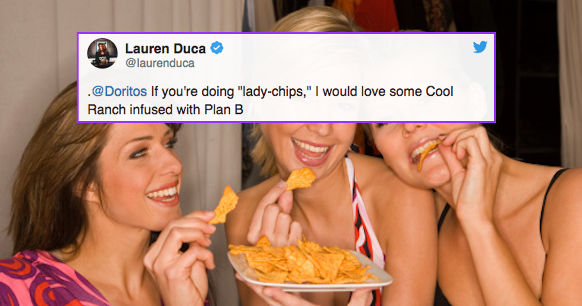 Doritos Is Creating 'Quiet' Chips Specifically For Women And Everyone Is Shaking Their Heads