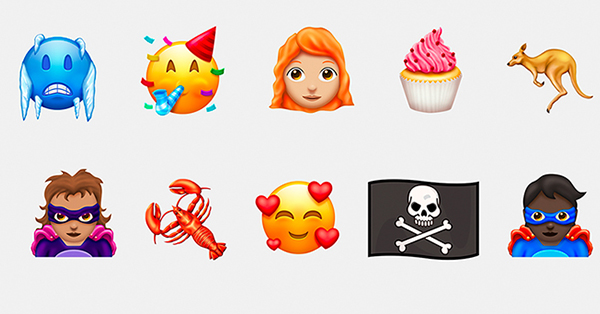 Here Are The 157 New Emojis Coming To Your Phone Soon