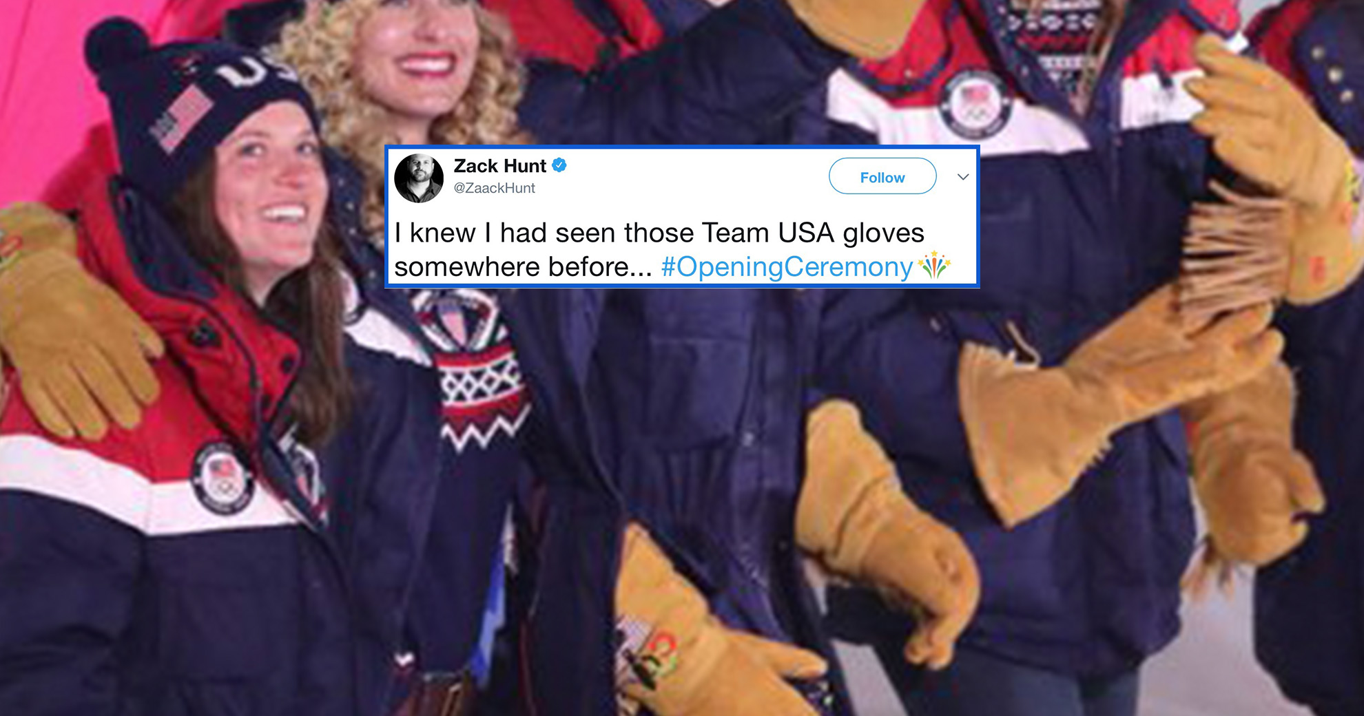 The Special Gloves At The Winter Olympics Are The Internet's Newest Meme