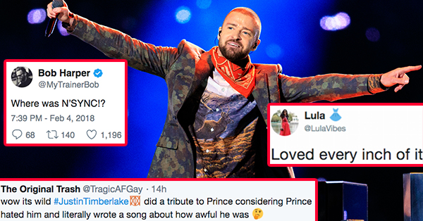42 People Who Were Very Angry, Happy, And Confused By Justin Timberlake's Halftime Show