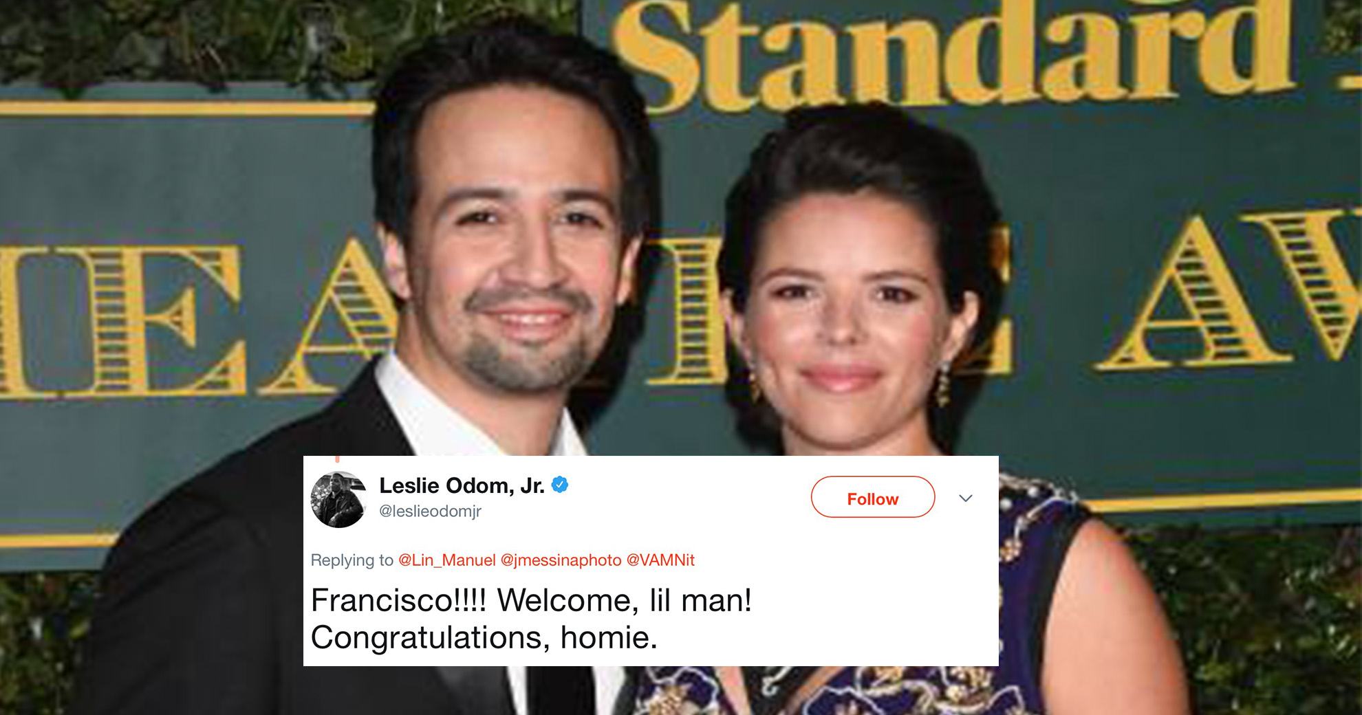 Lin-Manuel Miranda And His Wife Just Shared A Photo Of Their New Baby