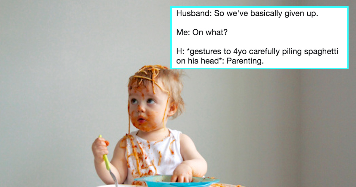 20 Funny Tweets From People Who Are Just Trying Their Best At This Whole Parenting Thing, Okay??