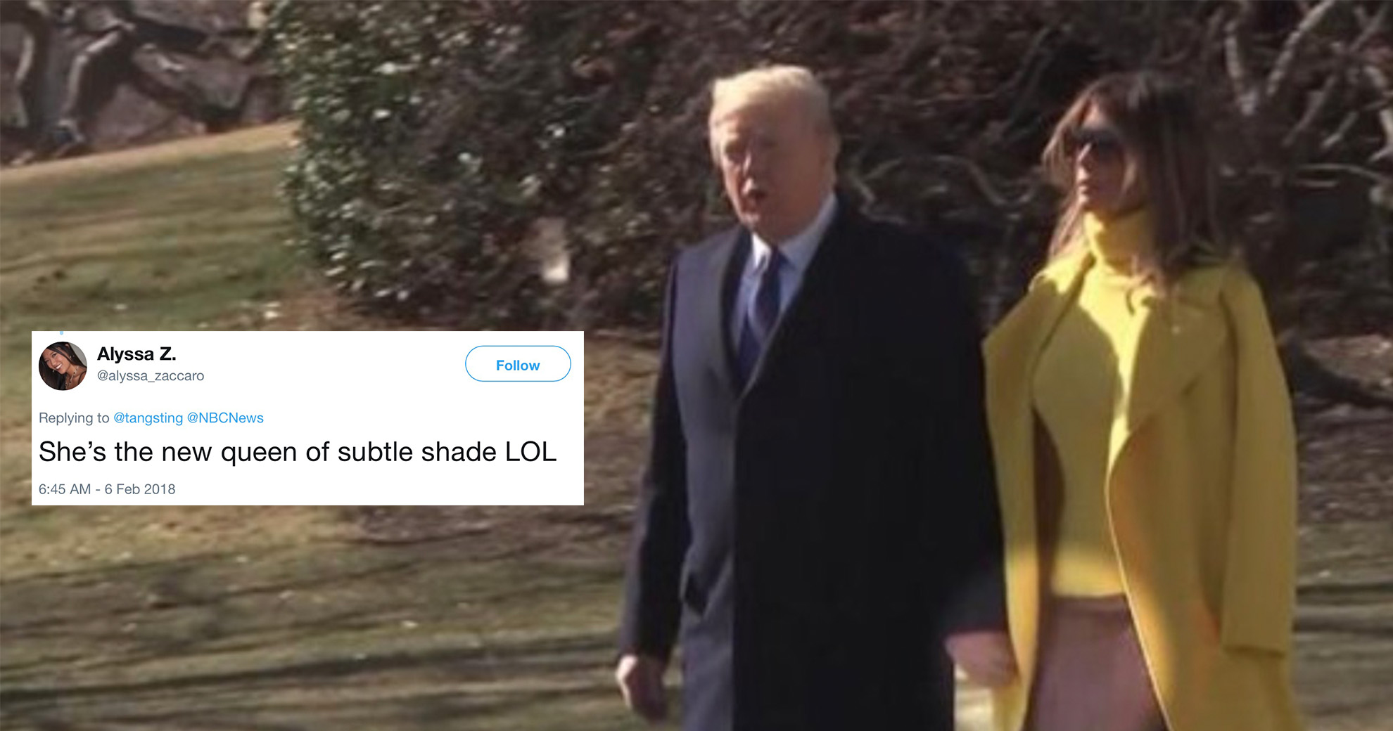 Awkward Video Of Donald And Melania Trump Emerges—And Twitter Has Theories