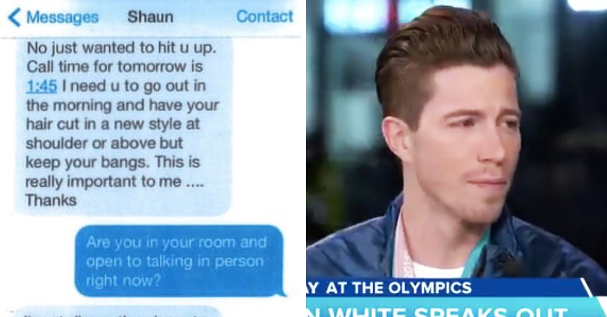 Disturbing Sexual Harassment Allegations Surface Against Shaun White