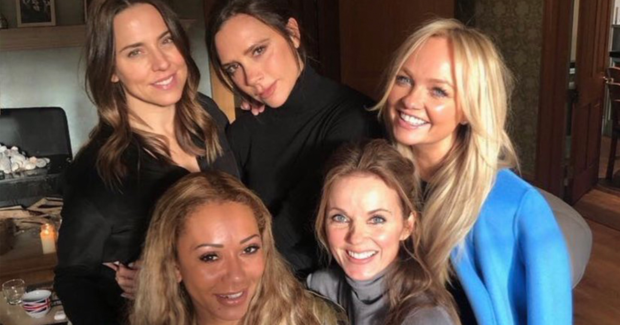 Eagle-Eyed Fans Spotted Something Suspicious In That Spice Girls Reunion Photo