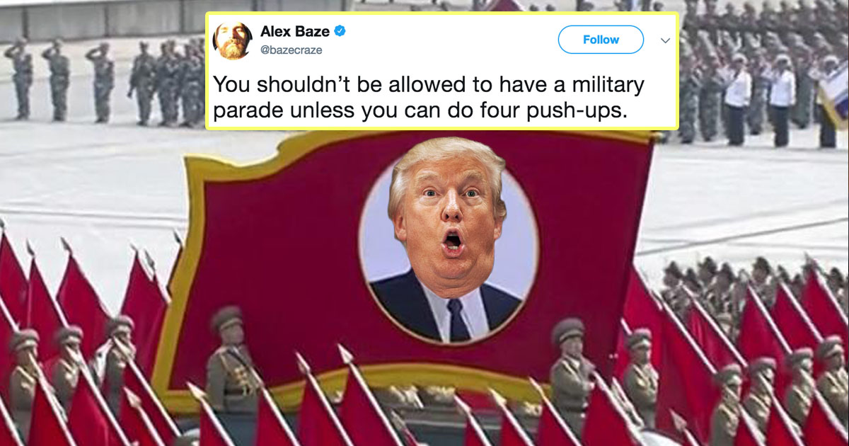 17 Tweets That Deserve A Parade More Than Donald Trump Does