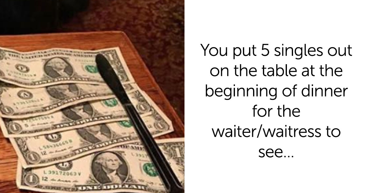 Couple Shares Their Go-To Tipping 'Trick' And We Absolutely Hate Them For It