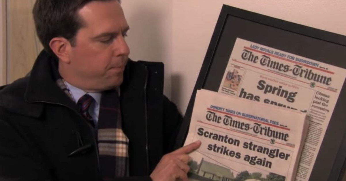 'The Office' Just Released A Documentary Confirming The Scranton Strangler's Identity