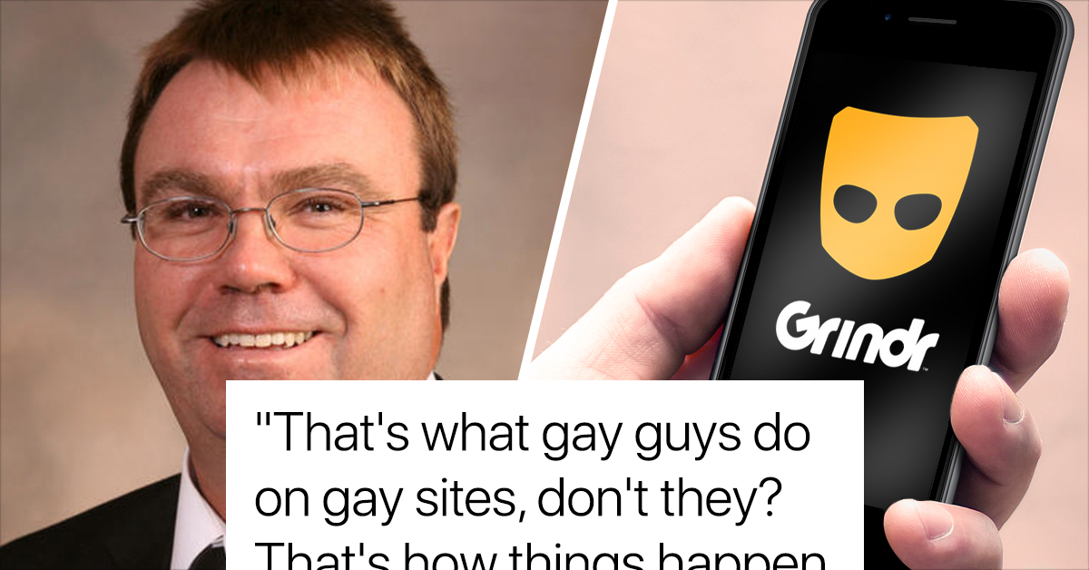 Anti-Gay Rights GOP Lawmaker Who Was Caught Sending Explicit Pics On Grindr Is Running For Re-Election