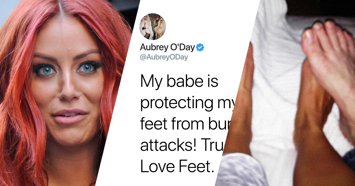 Everyone Thinks This Is A Twitter Photo Of Donald Trump Jr. And Aubrey O'Day Playing Footsies
