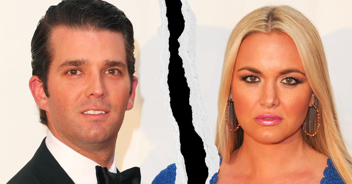 Donald Trump Jr.'s Wife Filed For Divorce, And You Bet Twitter's Got Jokes
