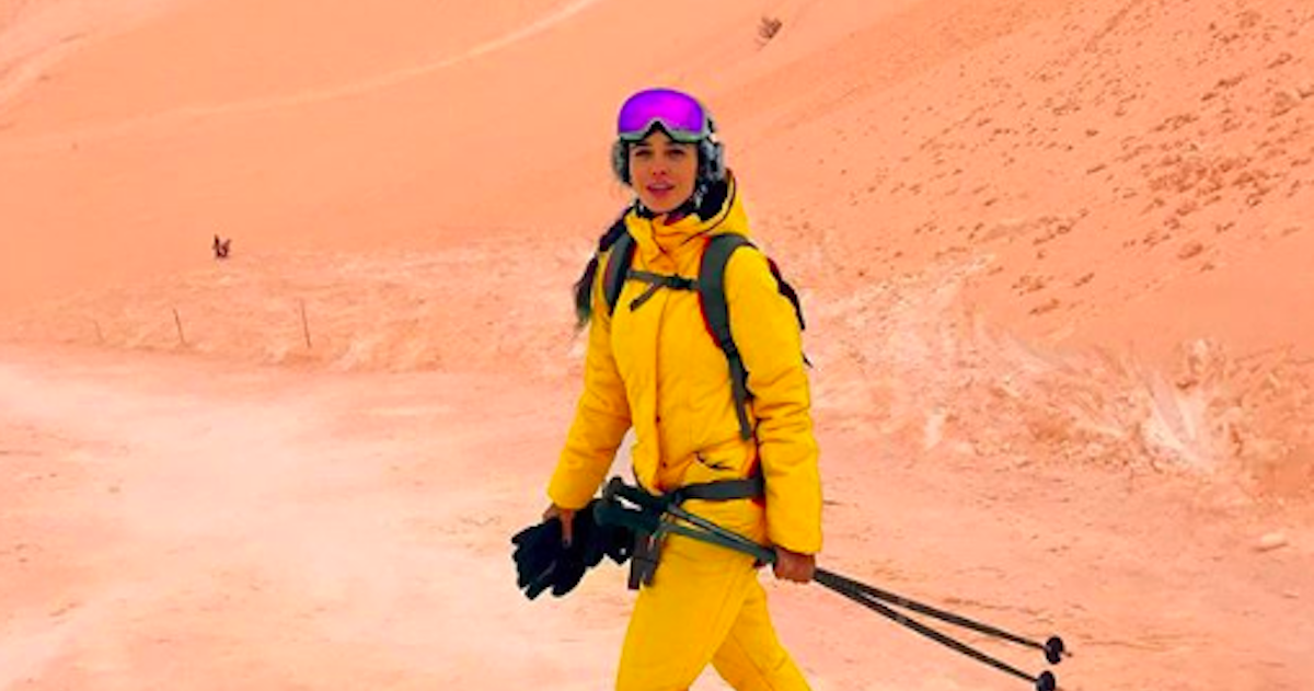 Skiiers In Eastern Europe Are Captivated By Bizarre Orange Snow